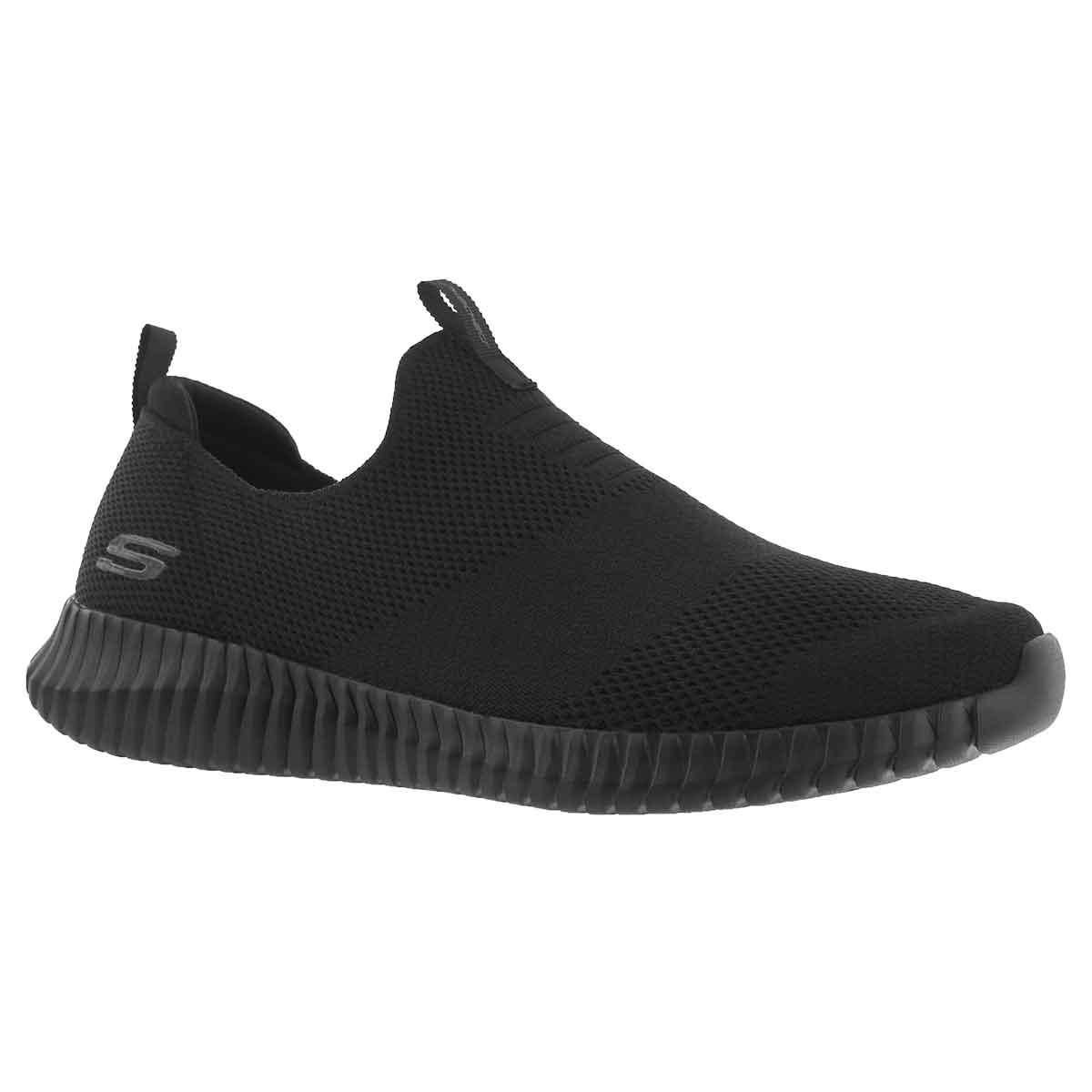Men's ELITE FLEX WASIK black slip on shoes