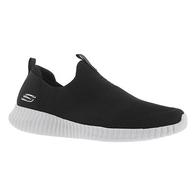Mns Elite Flex Wasik blk/wt slip on shoe