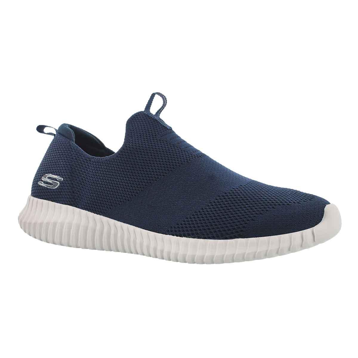 Men's ELITE FLEX WASIK navy slip on shoes
