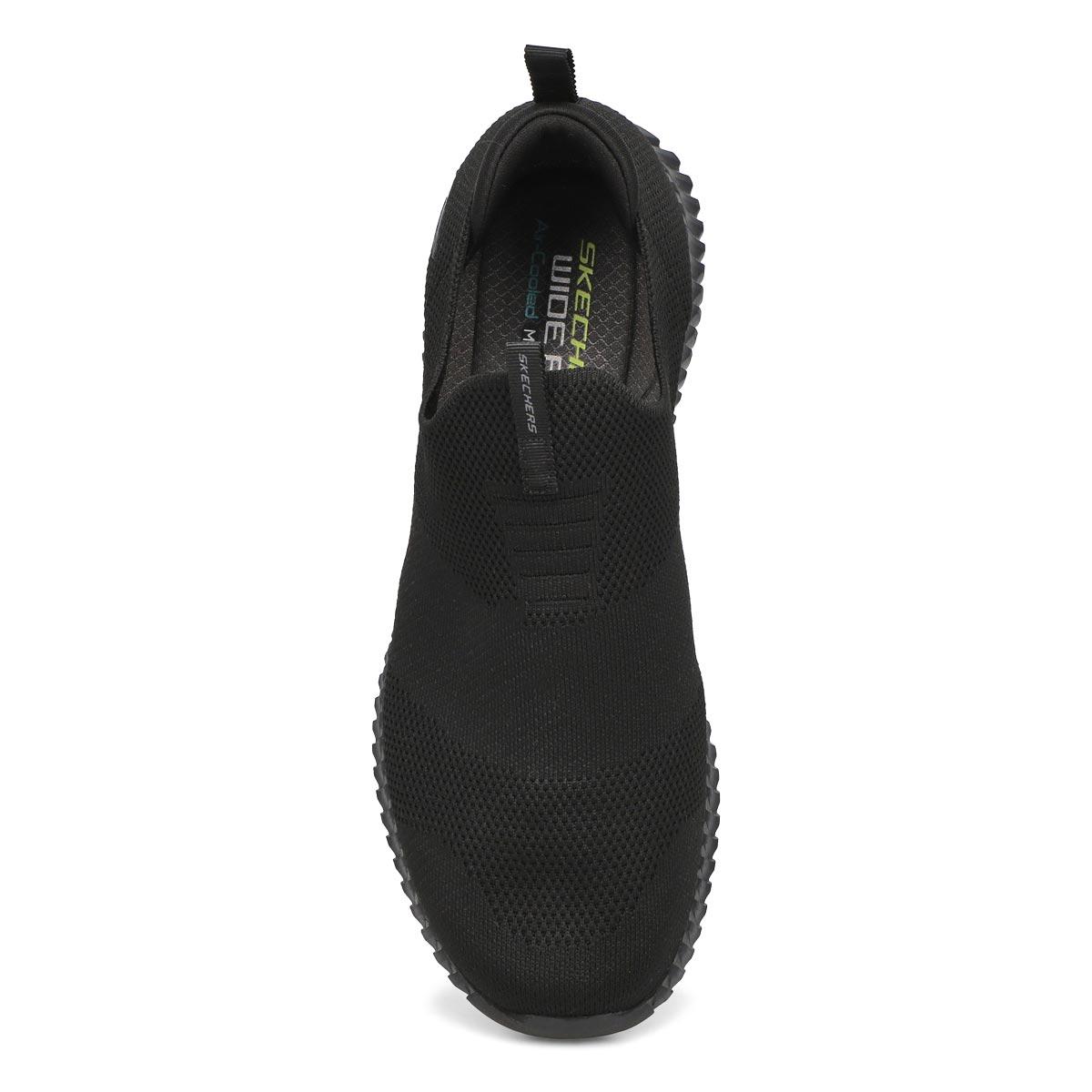 Mns Elite Flex Wasik blk slip on shoe -w