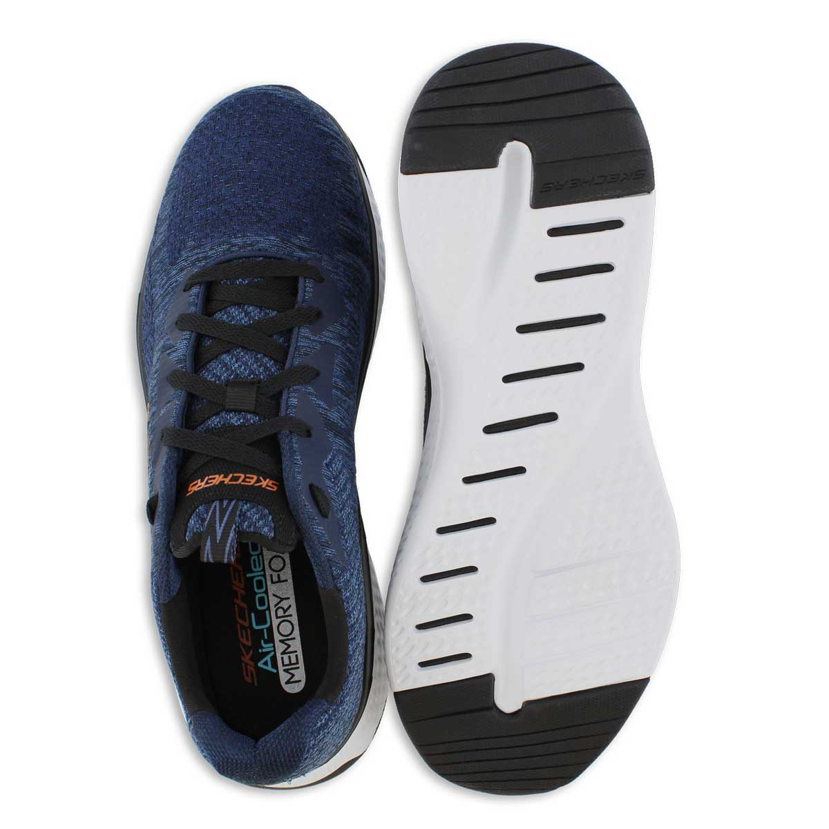 Mns Solar Fuse nvy/blk lace up sneaker
