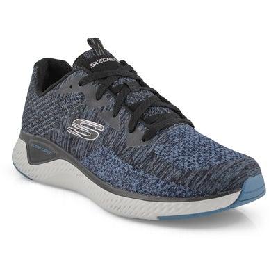 Mns Solar Fuse slate lace up sneaker