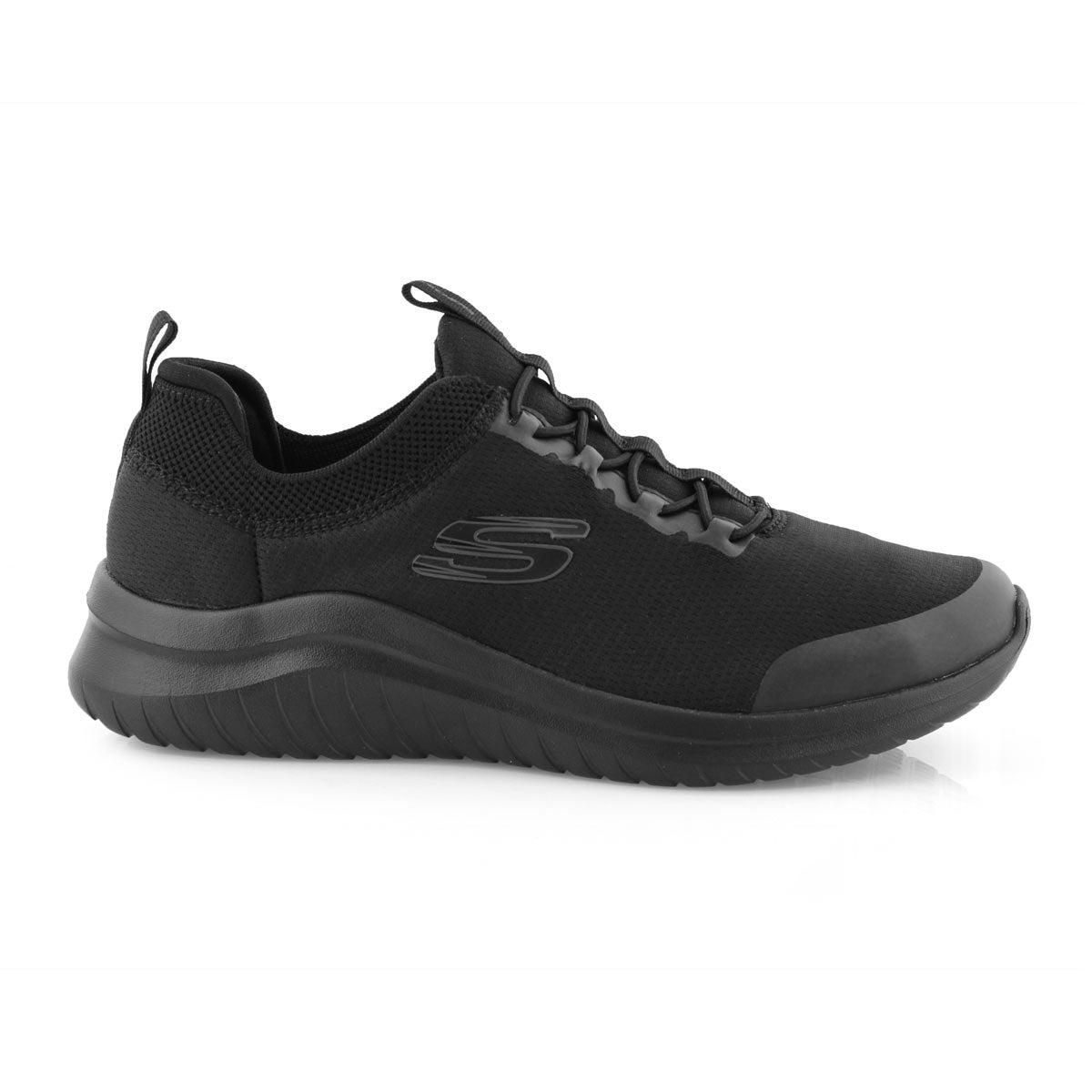 Mns Ultra Flex 2.0 black slip on sneaker