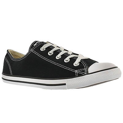 Lds CT AllStar Dainty Canvas black ox
