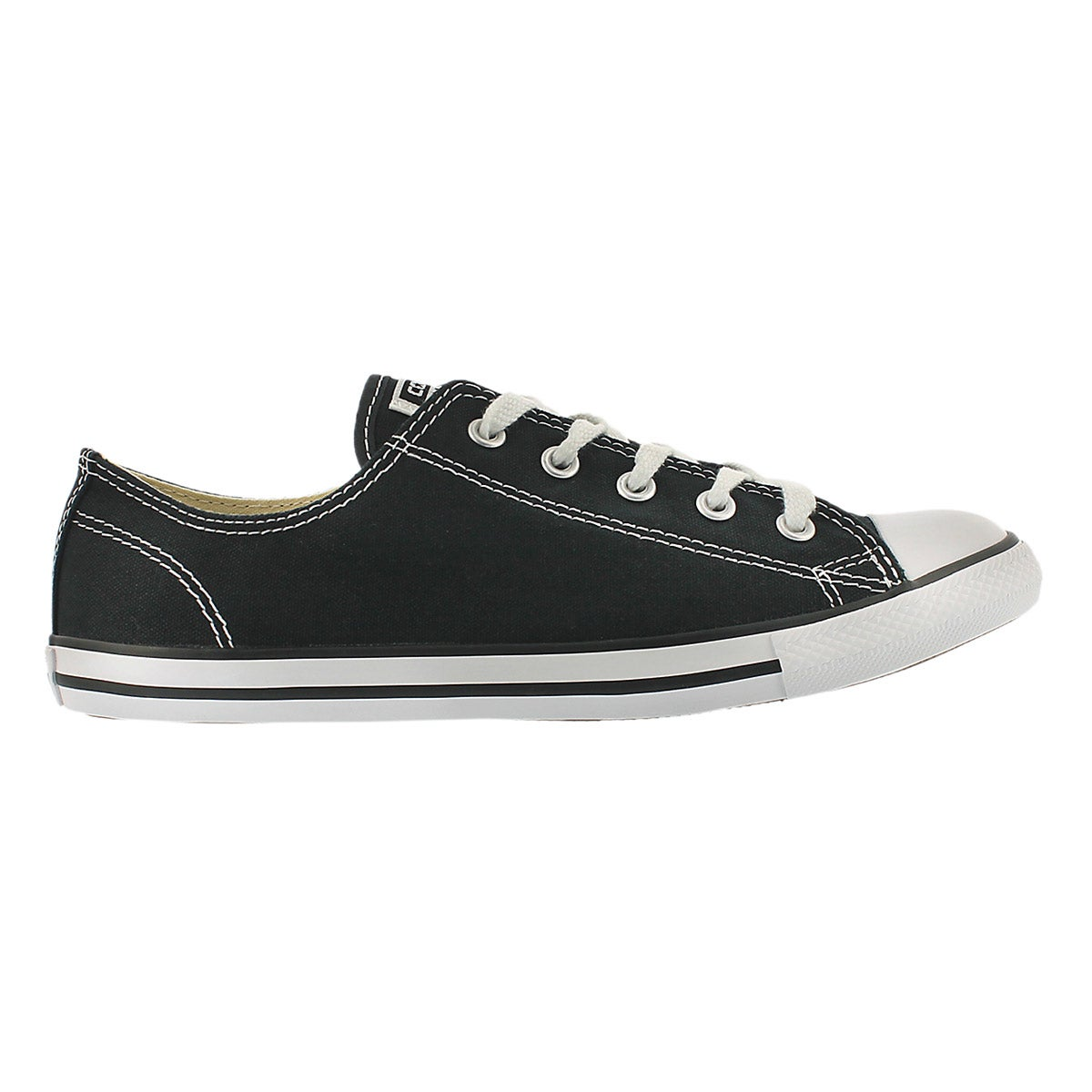 Lds CTAS Dainty Canvas Ox blk snkr