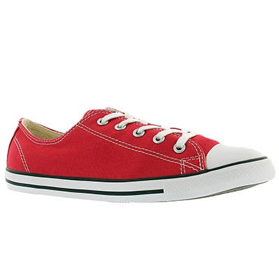 Lds CT AllStar Dainty Canvas red ox