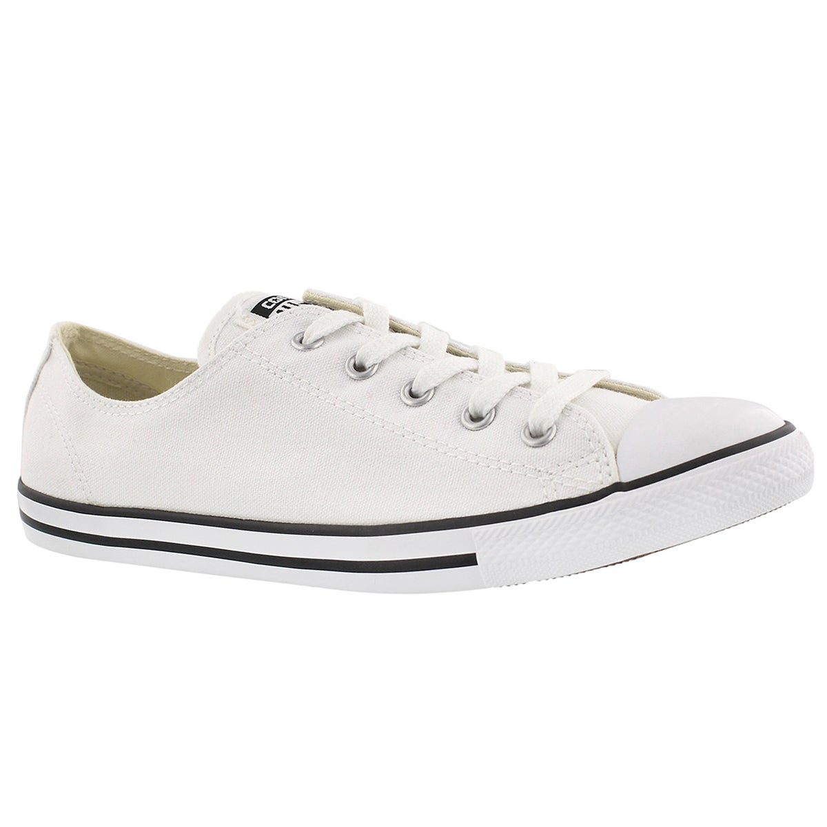 Women's CT ALL STAR DAINTY CANVAS white oxfords