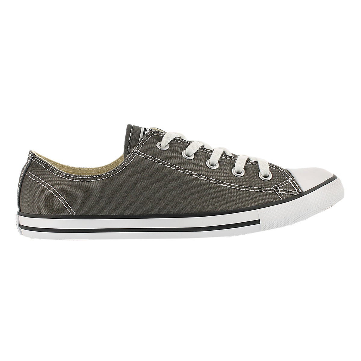 Lds CT AllStar Dainty Canvas charcoal ox
