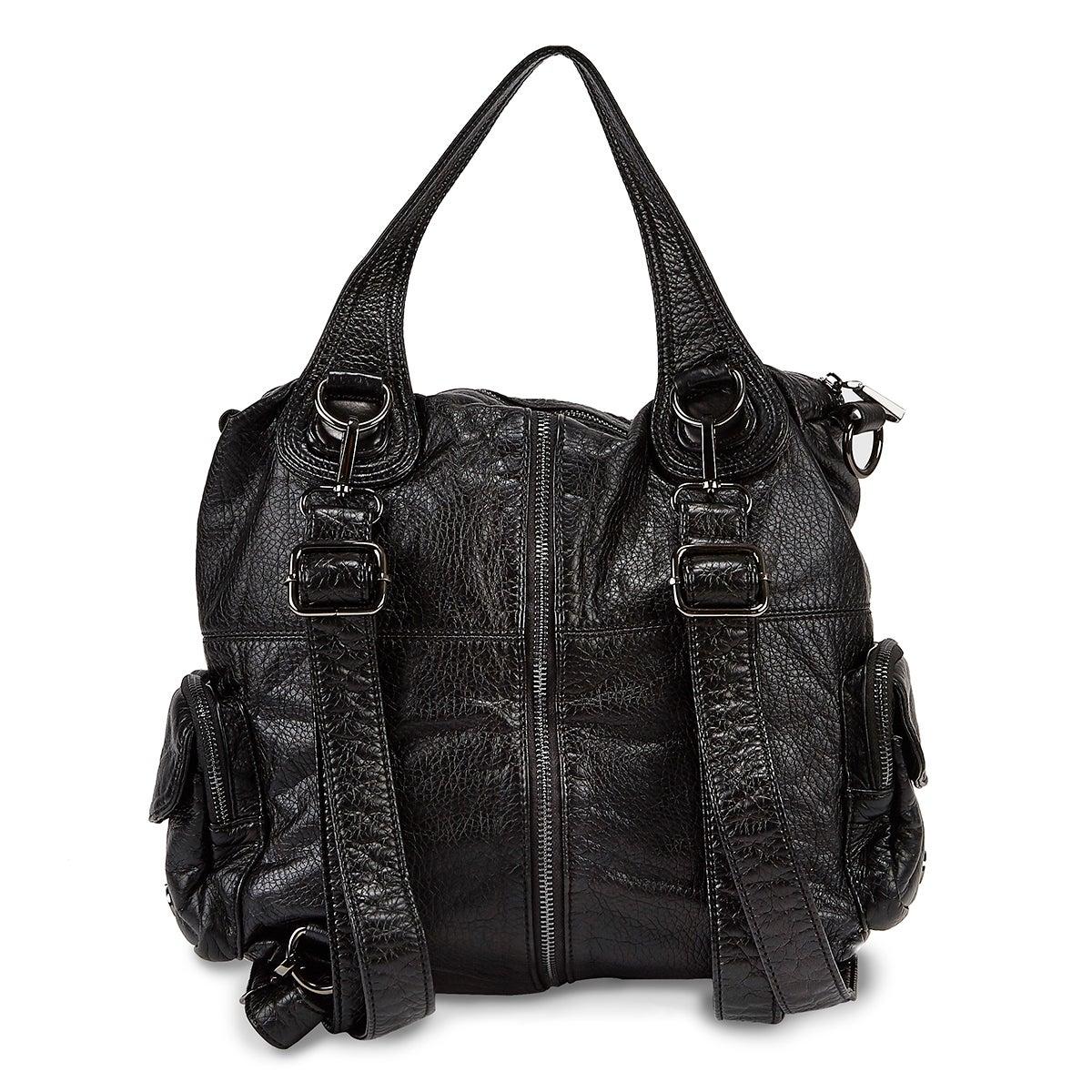 Lds black washed convert. backpack