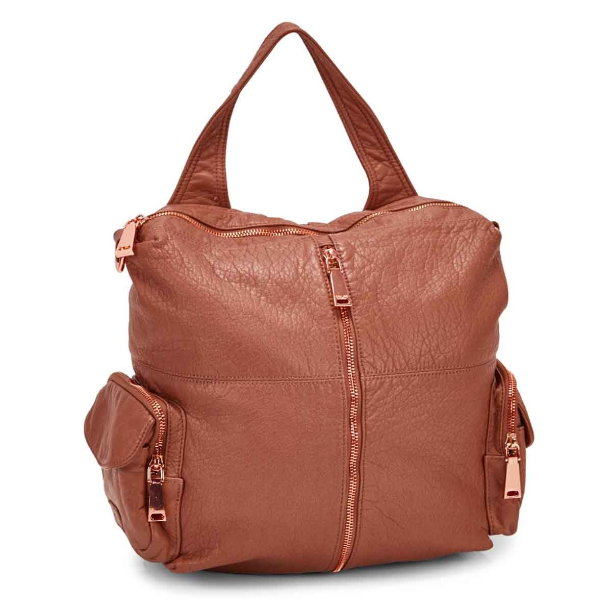 Women's 5371 clay washed convertible backpack