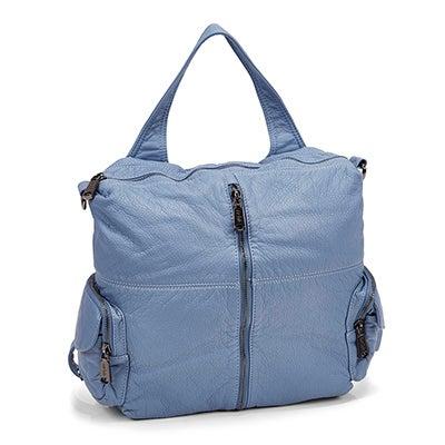 Co-Lab Women's 5317 denim blue washed  backpack