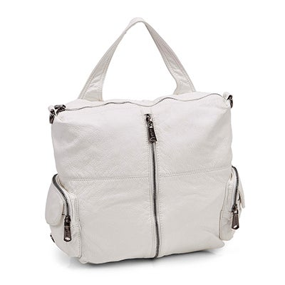 Lds white washed convert. backpack