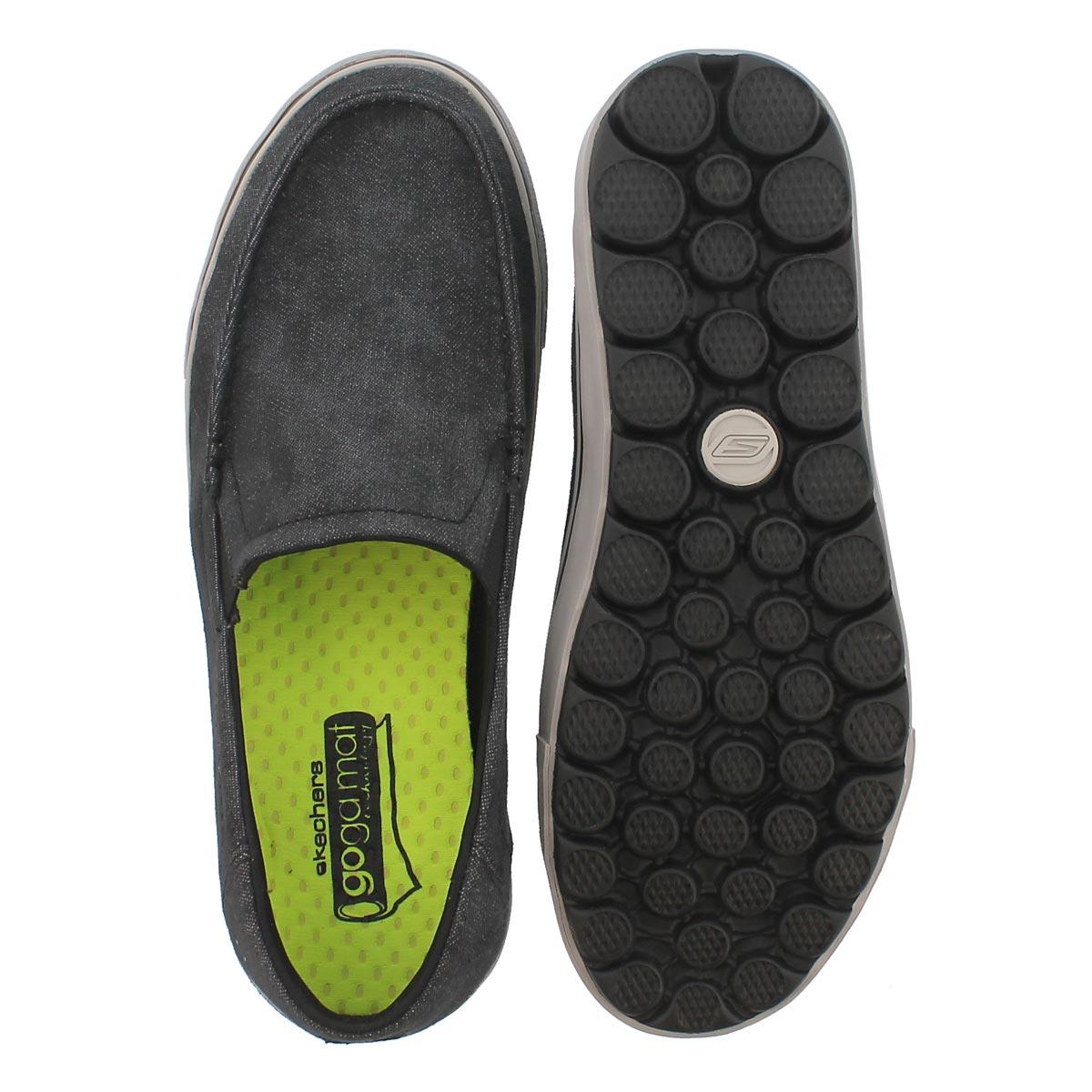 Mns GO Vulc Tour black slip on loafer