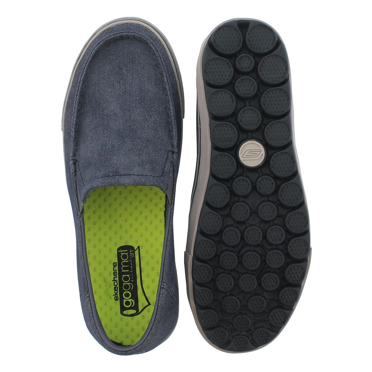 Mns GO Vulc Tour navy slip on loafer