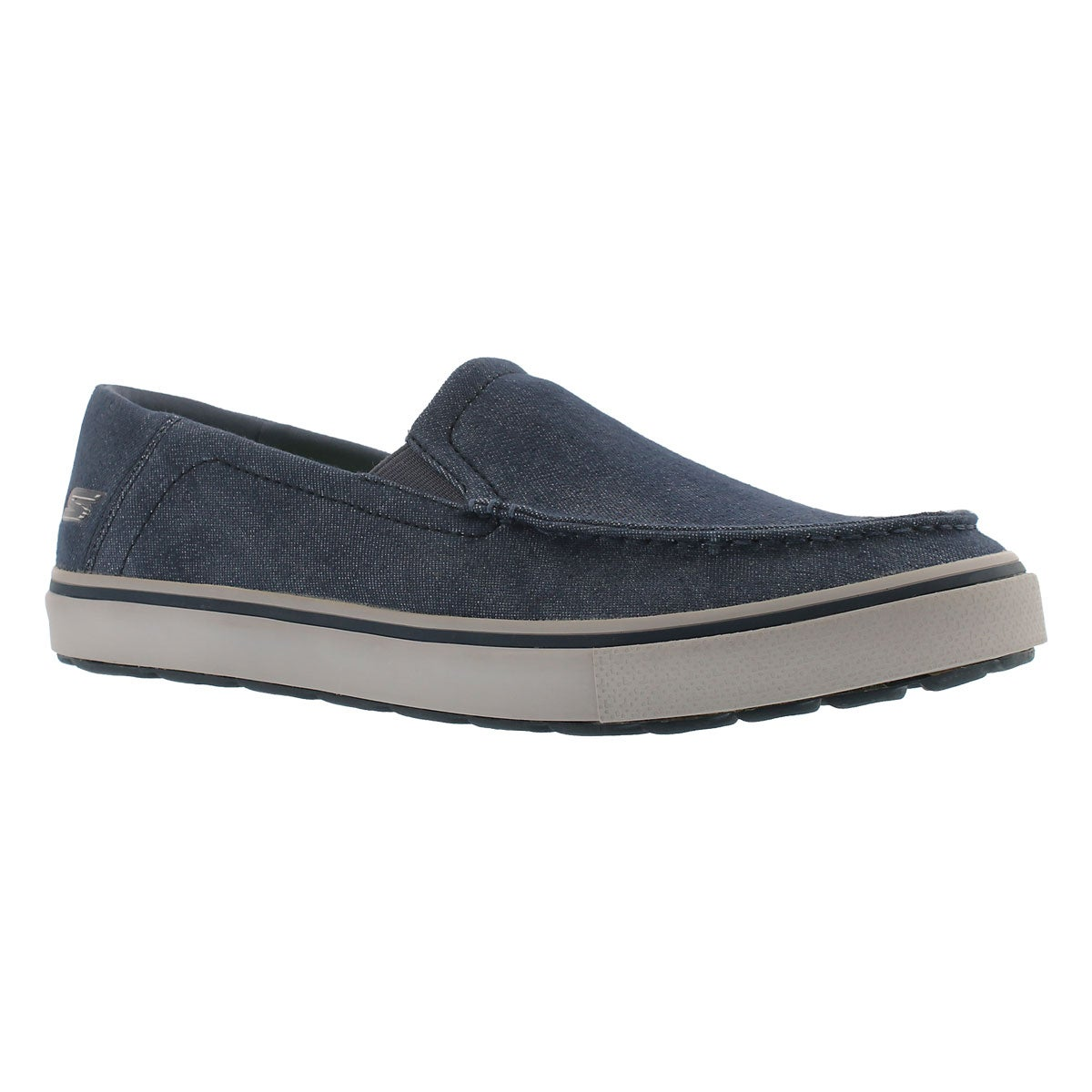 Men's GO VULC TOUR navy slip on loafers