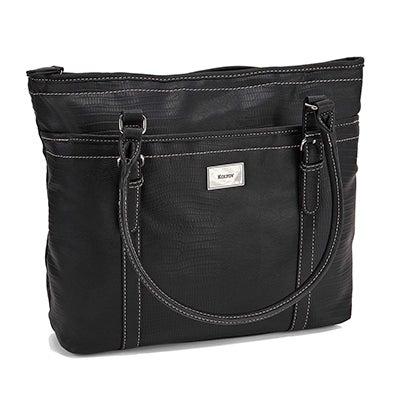 Lds black large hobo bag