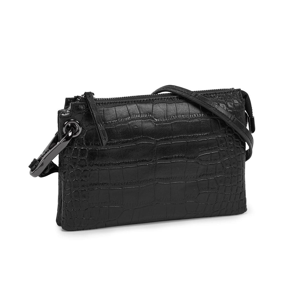 Women's 5380 black mini cross body bag