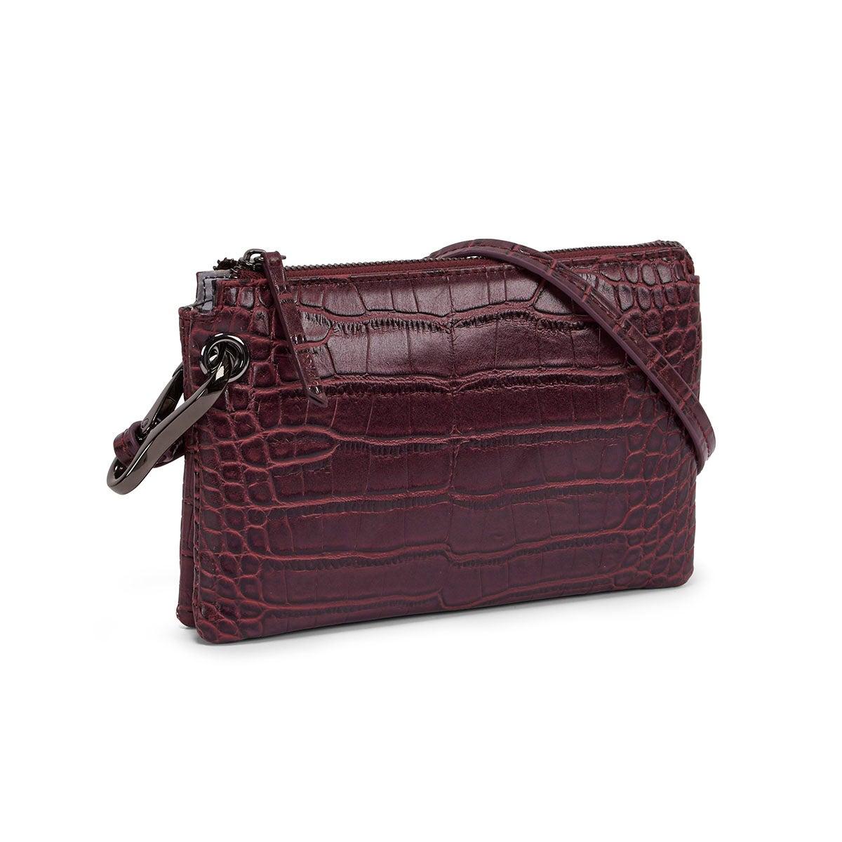 Women's 5380 wine mini cross body bag