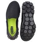 Mns GOwalk 3 blk slip on shoe