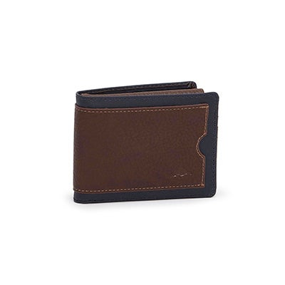 Mns Gun Powder brown billfold