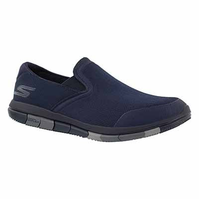 Skechers Men's GO FLEX navy/grey walking shoes