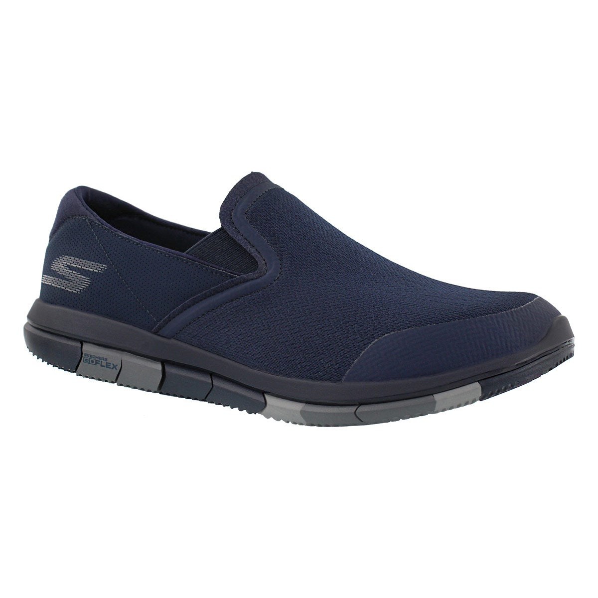 Mns GOflex nvy/gry walking shoe