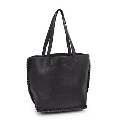 Co-Lab Women's black 5414 stitches tote bag
