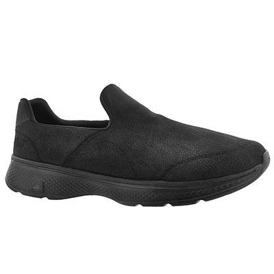 Mns GOwalk4 Remarkable blk slip on shoe
