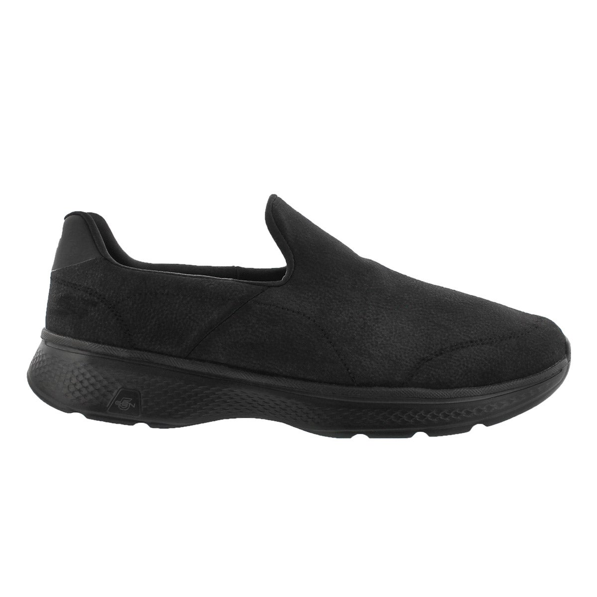 Mns GOwalk4 Remarkable blk slip on shoe