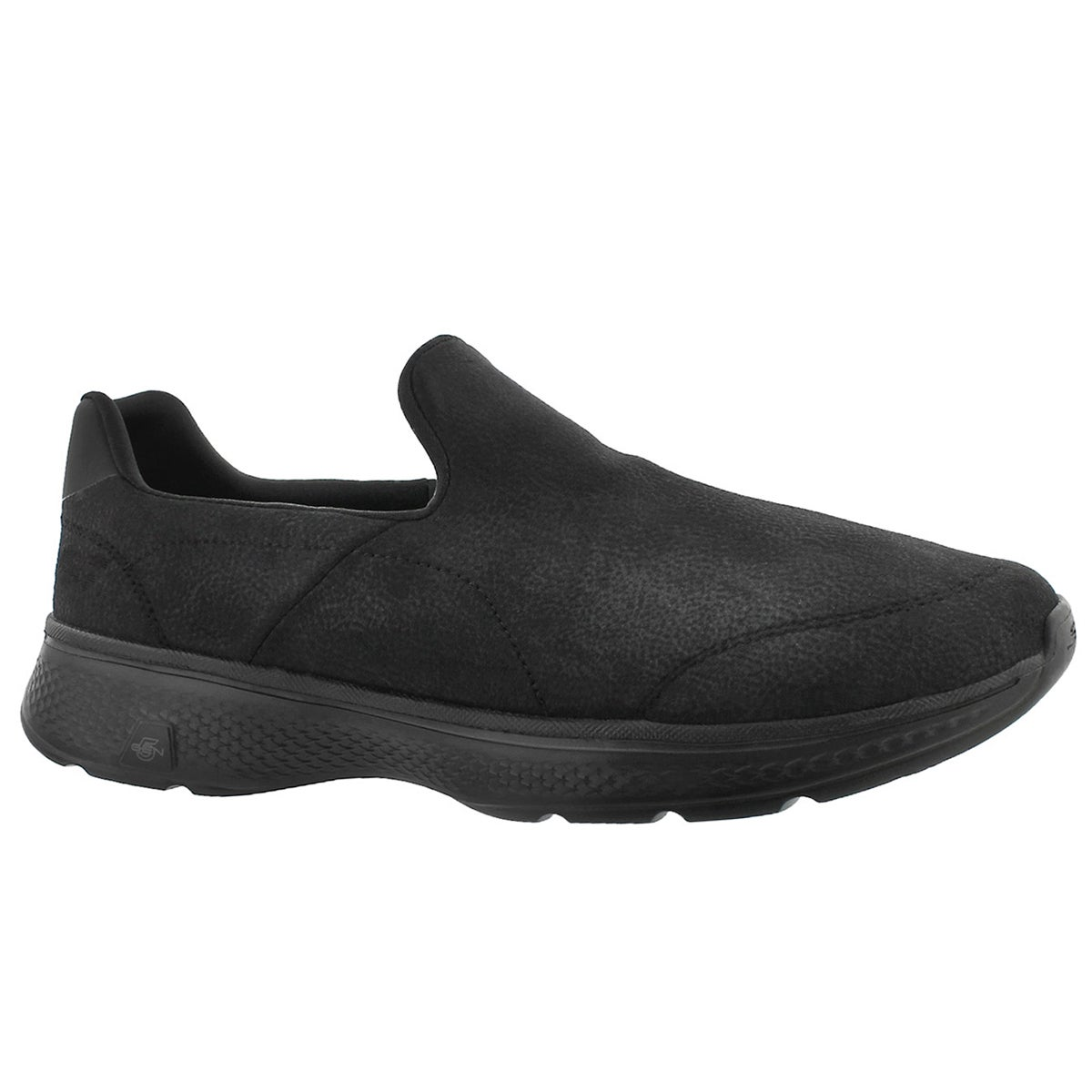 Men's GOwalk 4 REMARKABLE black slip on shoes