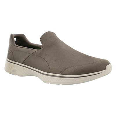 Mns GOwalk4 Remarkable kki slip on shoe
