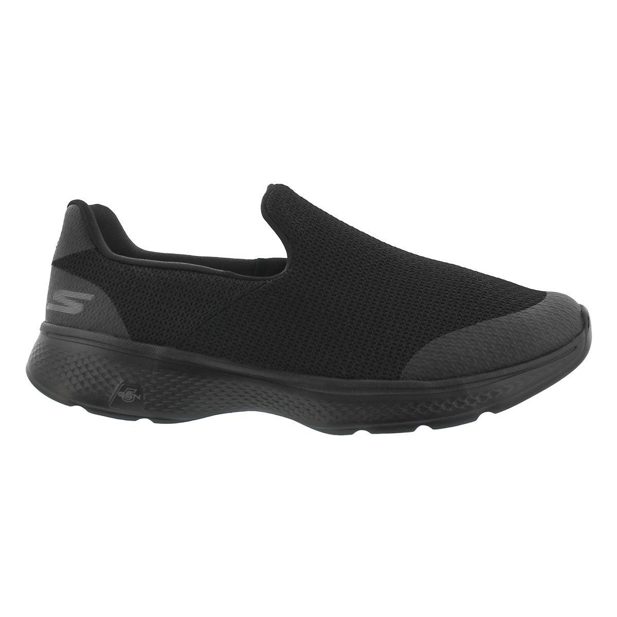 Mns GOwalk 4 Expert black slip on shoe