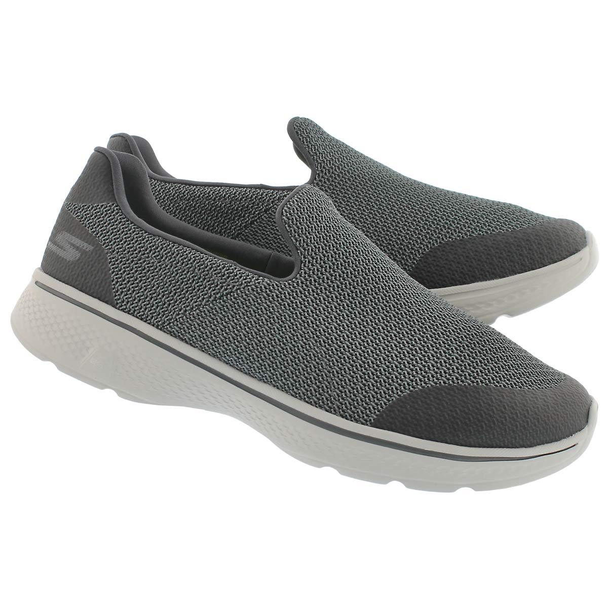 Mns GOwalk 4 Expert char slip on shoe