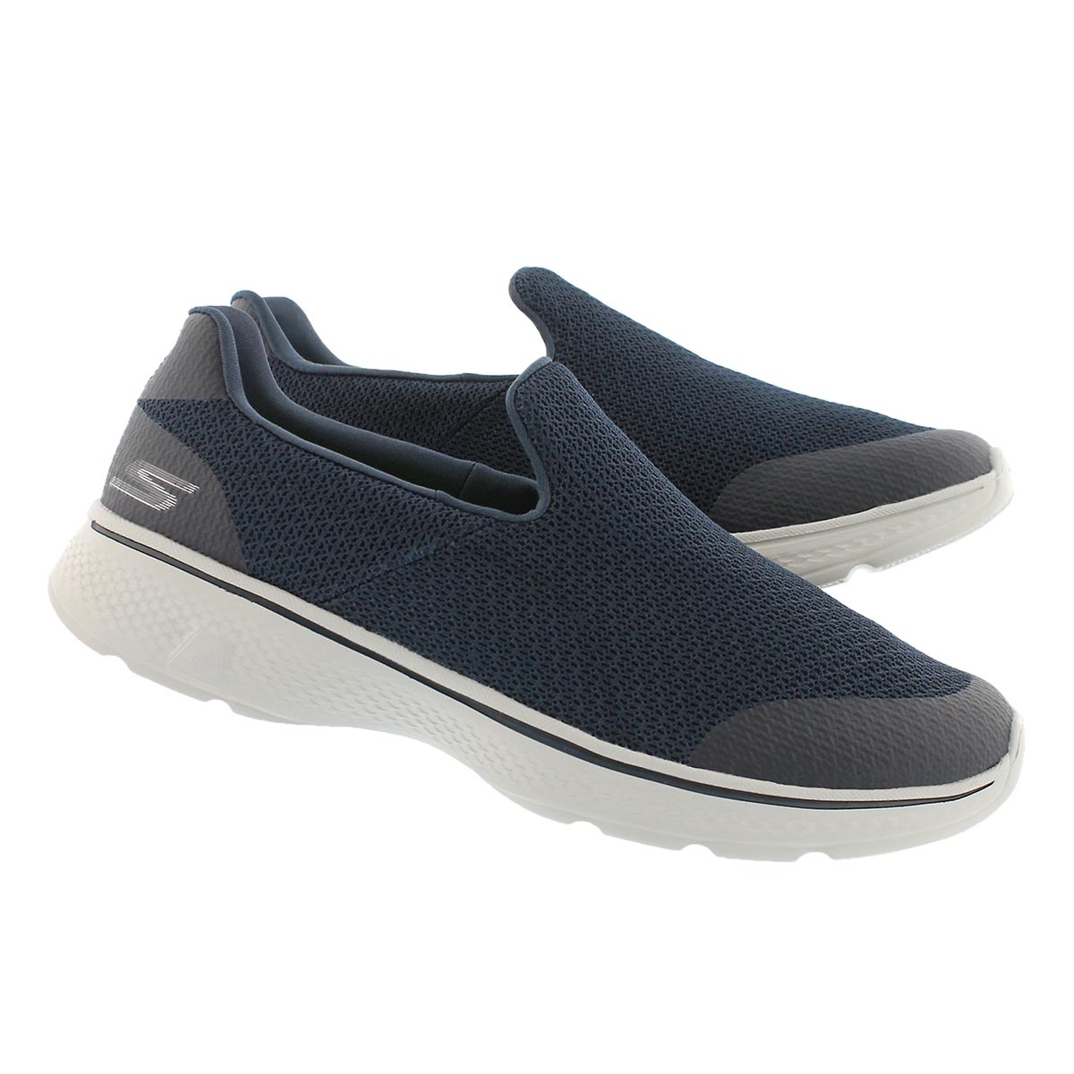 Mns GOwalk 4 Expert nvy/gry slip on shoe