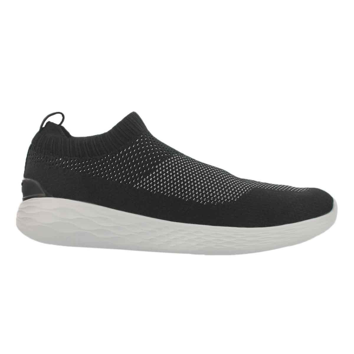 Mns GO Strike blk/wht slip on shoe