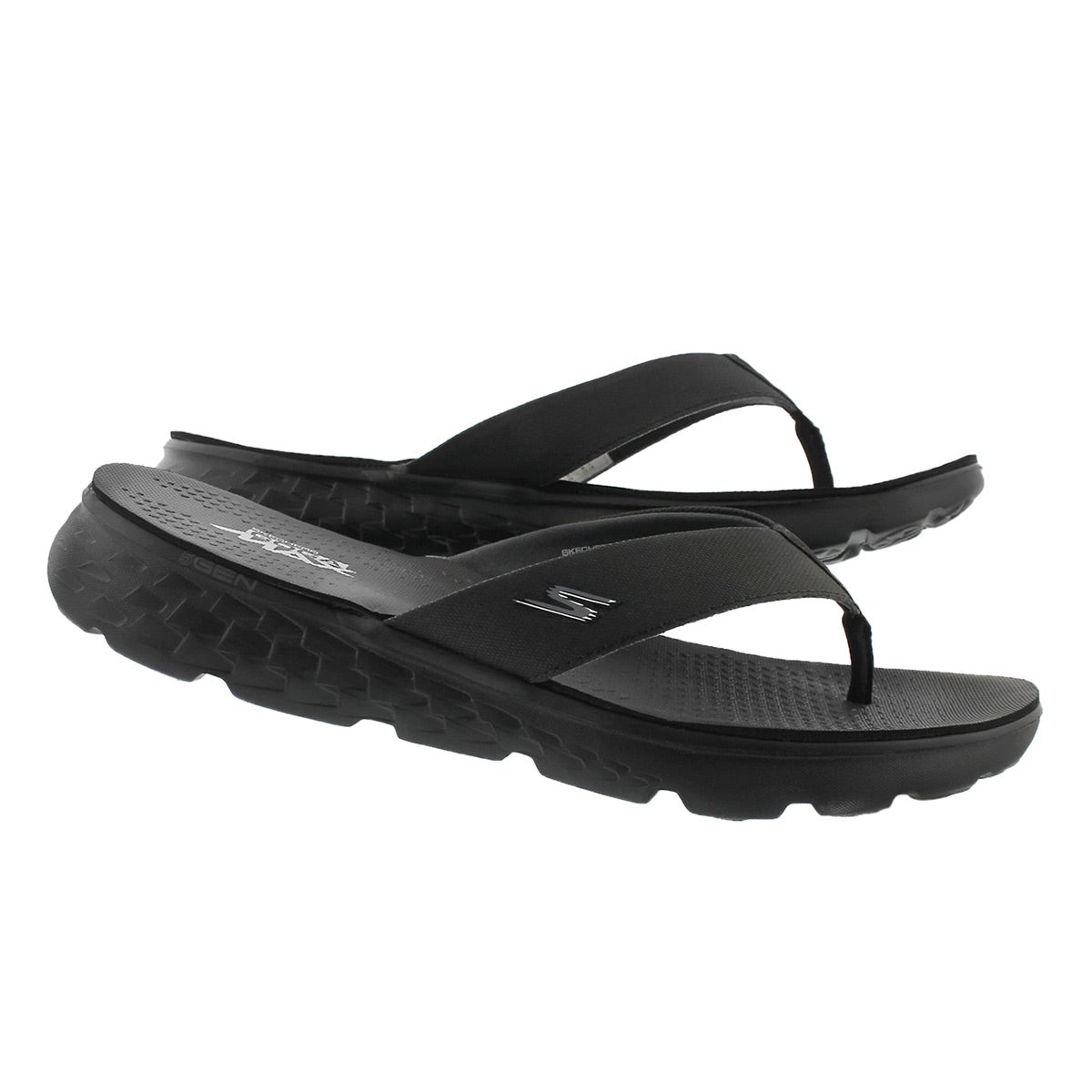 Mns On-The-Go 400 Shore black flip flop