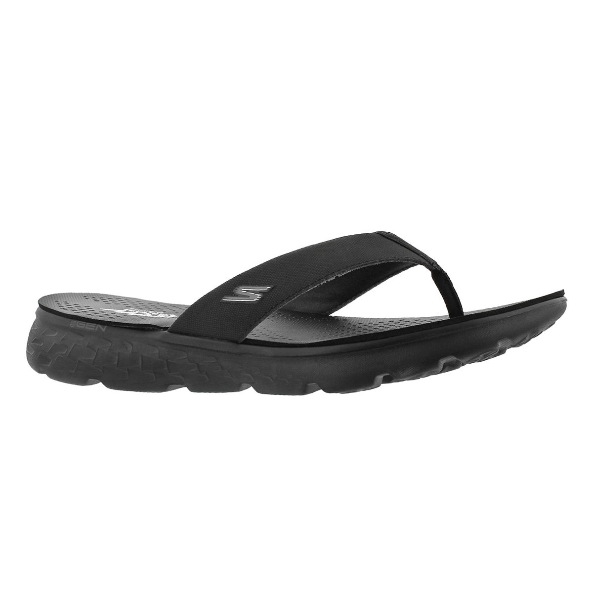Men's ON-THE-GO 400 SHORE black flip flops