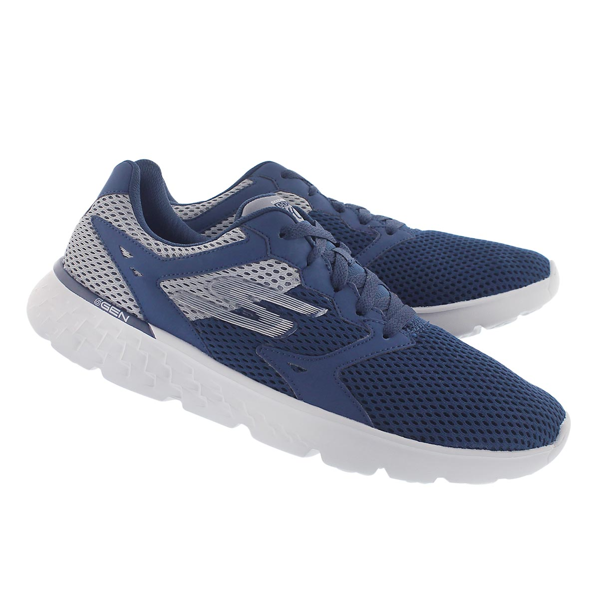 Mns GO Run 400 navy lace up running shoe