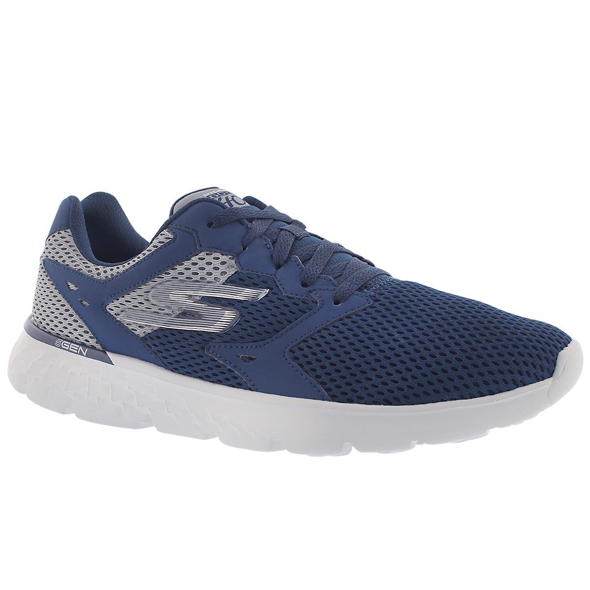 Mns GO Run 400 navy lace up running shoe