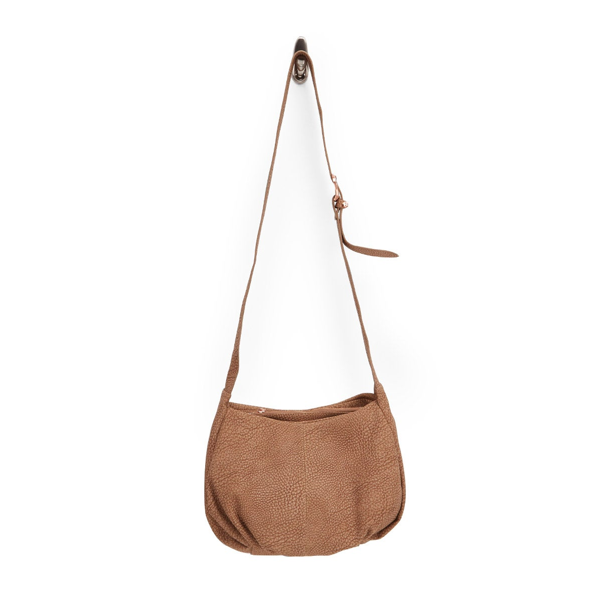 Lds sand 3 compartment cross body bag