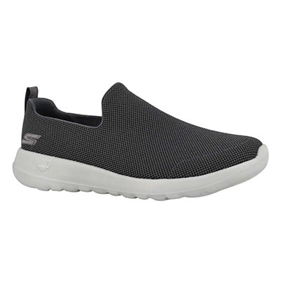 Mns GO Walk Max charcoal slip on shoe