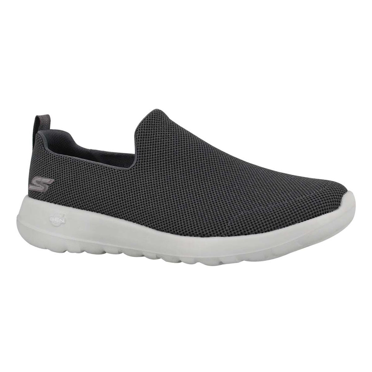 Men's GOwalk MAX charcoal slip on shoes