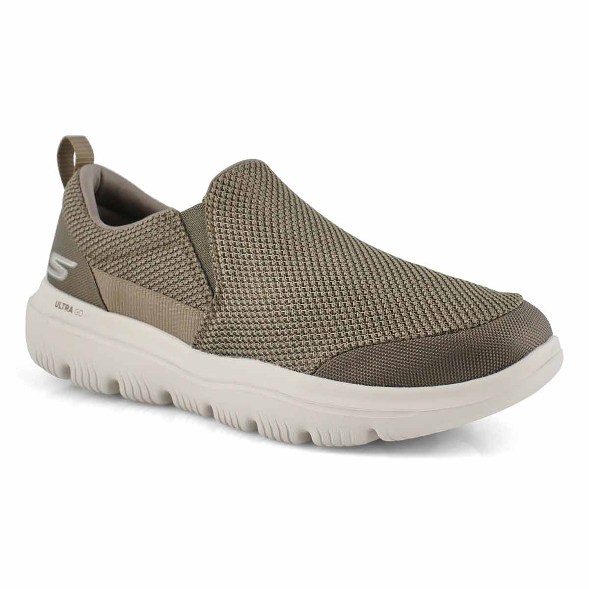Mns GOwalk Ultra Impeccable khki slip on