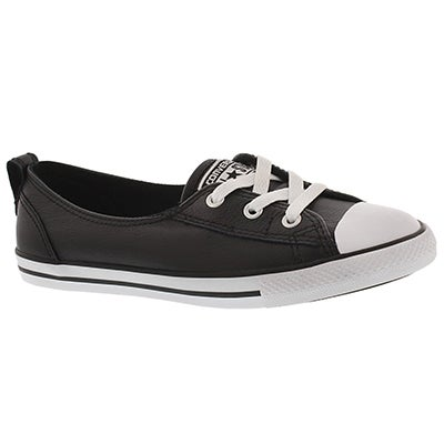 Converse Women's CT ALL STAR BALLET LACE black sneakers