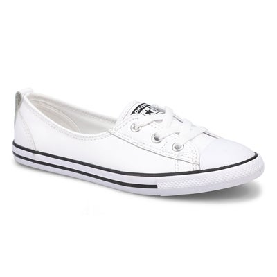 Converse Women's CT ALL STAR BALLET LACE white sneakers