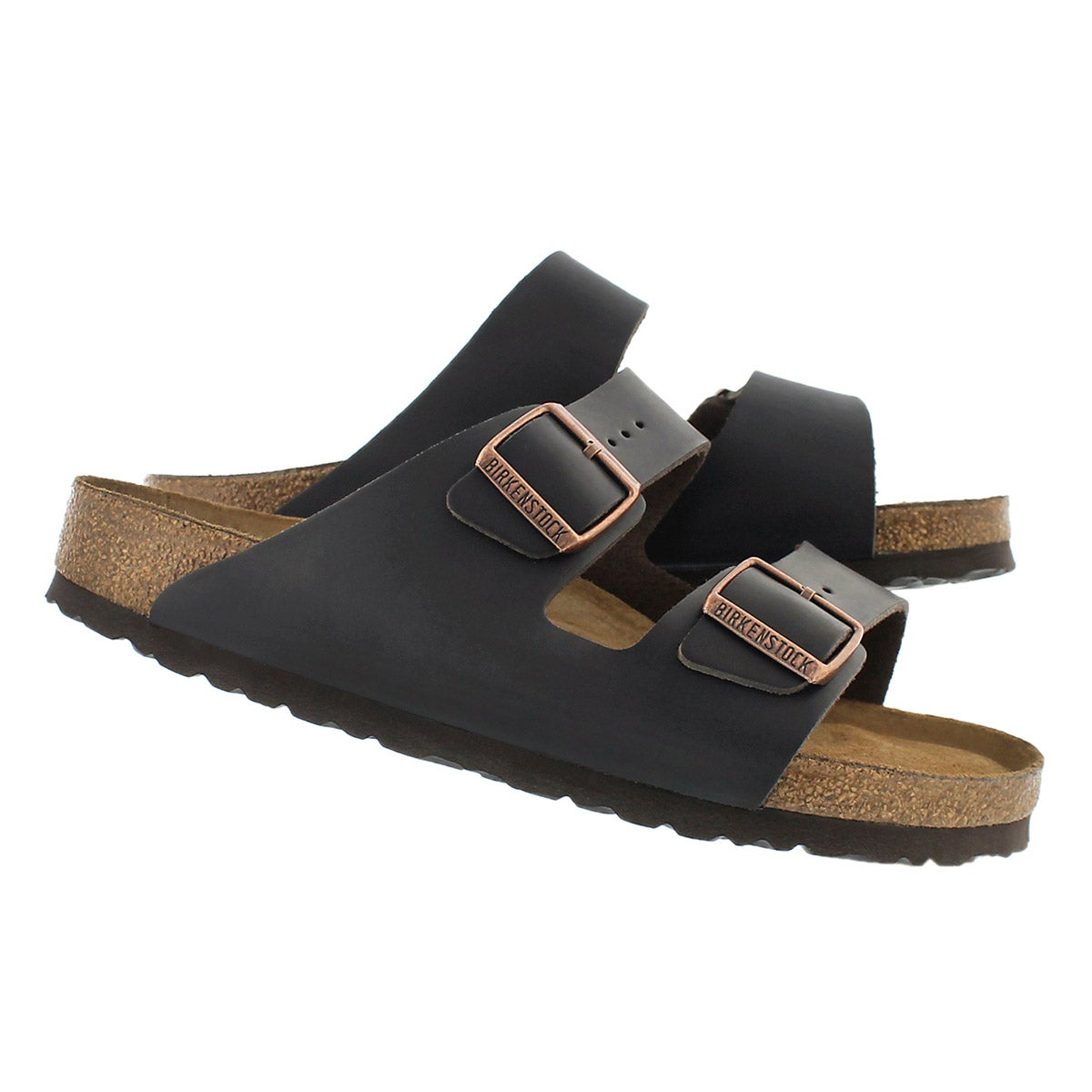 Mns Arizona brown 2 strap sandal SF