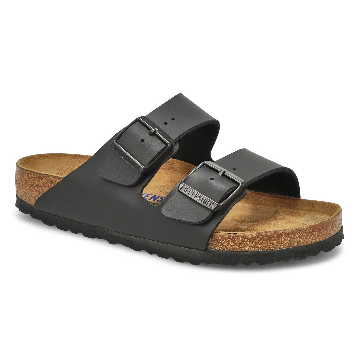 Women's ARIZONA SF black 2 strap sandal