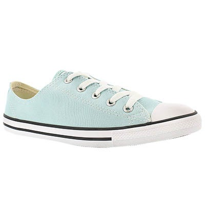 Converse Women's CT ALL STAR DAINTY canvas blue oxfords