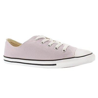 Converse Women's CT ALL STAR DAINTY canvas purple oxfords