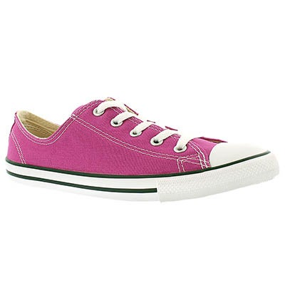 Converse Women's CT ALL STAR DAINTY pink canvas oxford